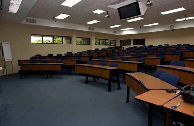 Incae instalaciones salones de clase universidadescr - Visillos para salones ...