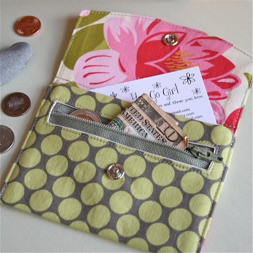 Lovely Lily Wallet | by You Go Girl