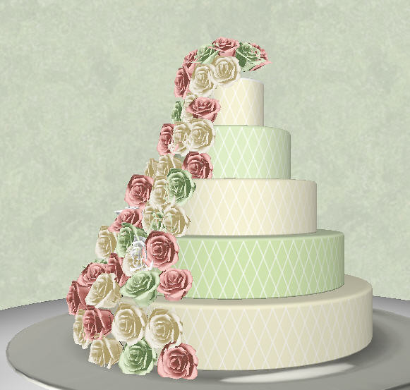 Cake Design Pro : Cake design 2 using Wedding Cake Design Pro ...