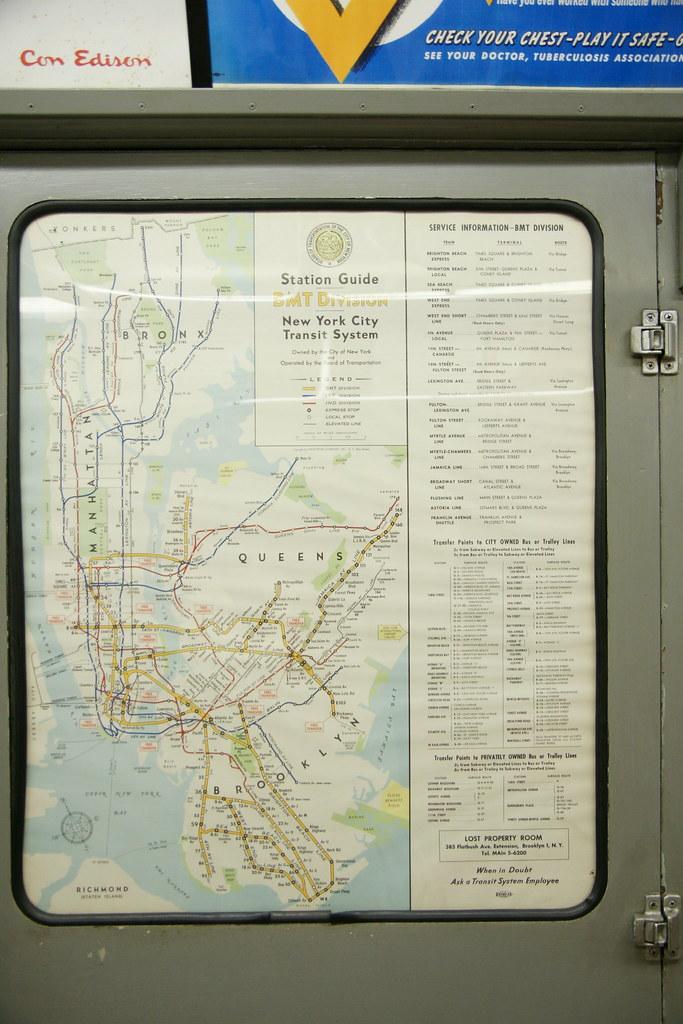 Nyc Subway Map 1950.1950 Nyc Subway Map New York City Subway Map Circa 1950 Wi Flickr