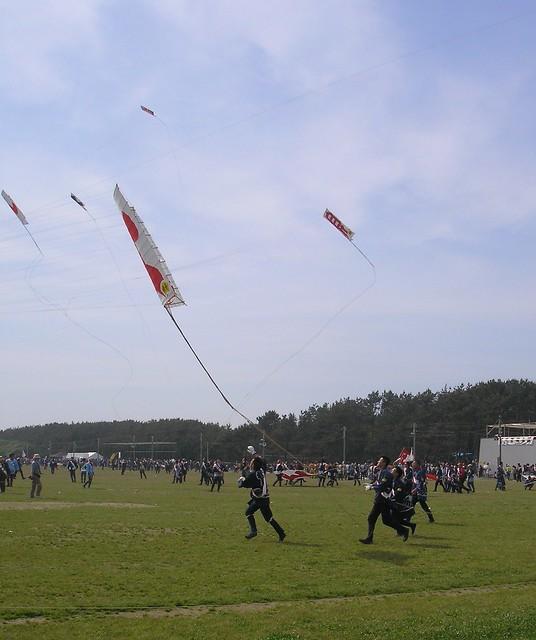 Kites at Nakatajima