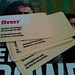 Fiverr recycled paper business card