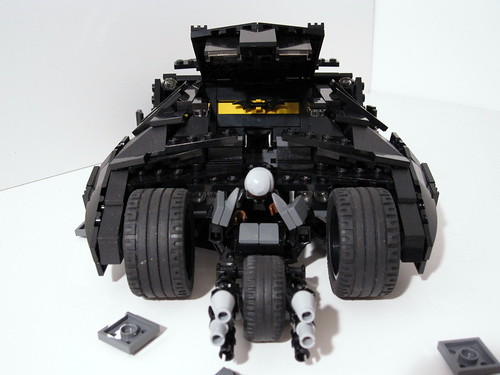 Lego Batman Tumbler Batpod | Batman's Tumbler transforms ...
