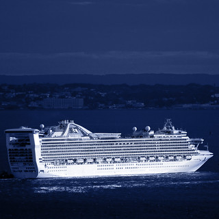 The Caribbean Princess Heads Out to Sea, Sunday Night. | by Jay Fine