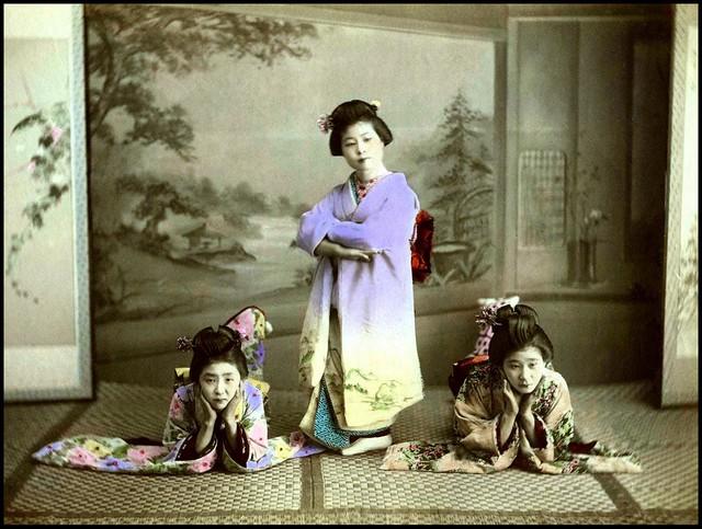 White Kimonos