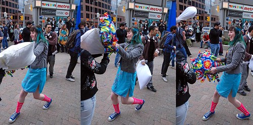 Pillow fight Toronto 2010-85252627 | by sniderscion