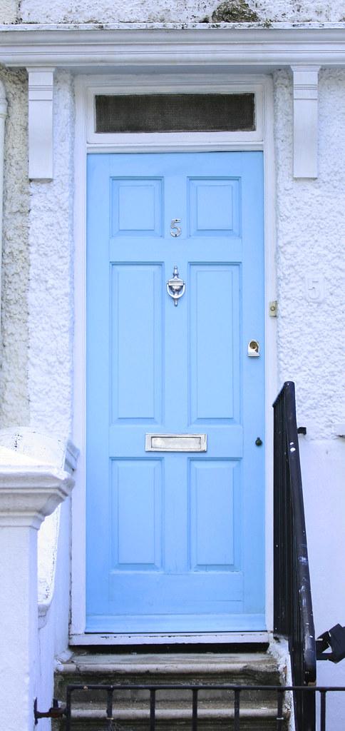 ... Light Blue Door | By TraceySiu