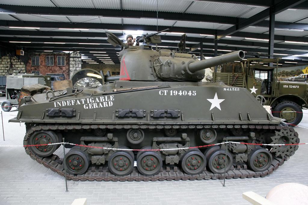 M4a3e8 Sherman Sherman M4a3e8 Usa | by