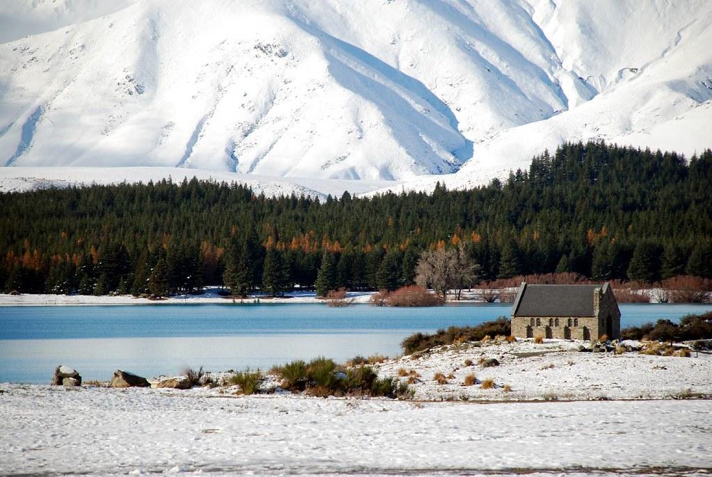 Neuseeland im Winter hat seine ganz eigenen Reize - vielleicht doch eine interessante Destination für die Sommerferien? ;-)  Copyright: Flickr/Geof Wilson  https://flic.kr/p/864dXn