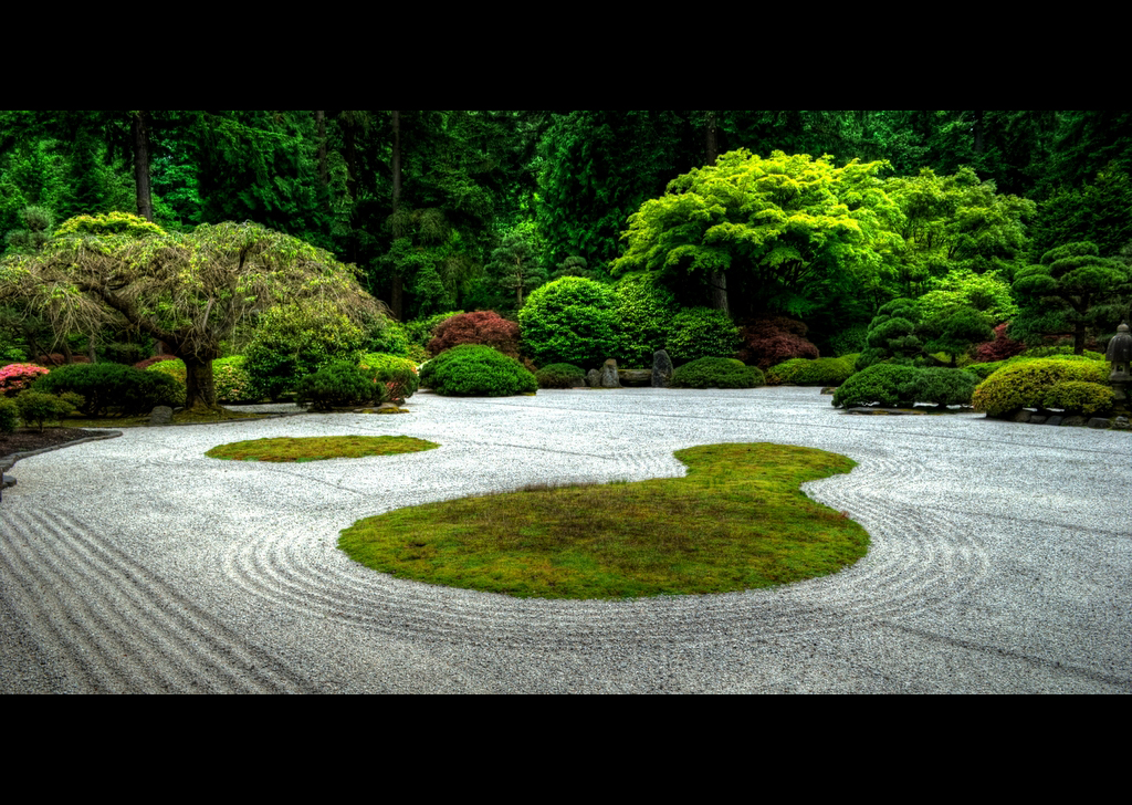 interesting beautiful zen garden | Zen Garden | Beautiful zen garden at the Japanese Gardens ...