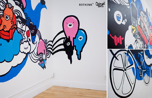 Rethink Toronto's new office wall mural. | by Chairman Ting