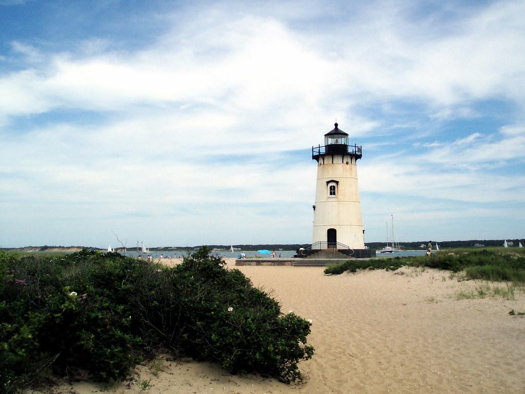 New England Coastal Island