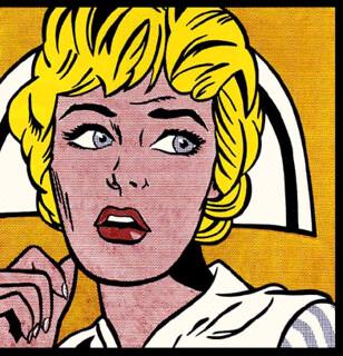 Nurse 1 cuadros pop art flickr - Roy lichtenstein cuadros ...