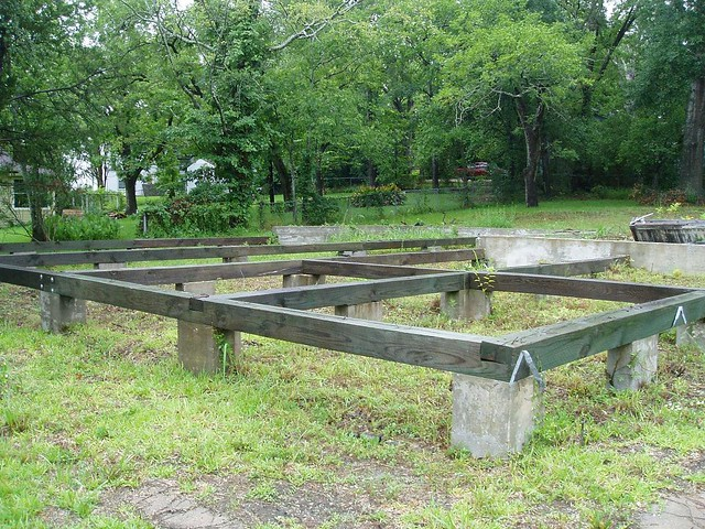 Pier and beam foundation flickr photo sharing for How to build a pier and beam foundation