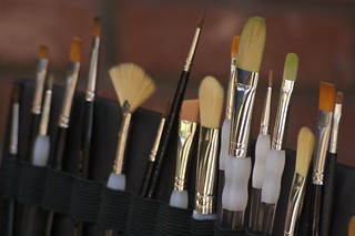 Paint Brushes Close-Up | by Tech109