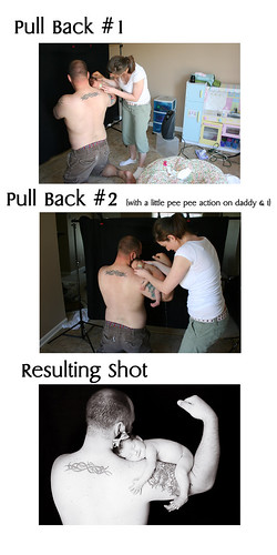 Daddy's Shoulders Before & After | by {{Jessica}}