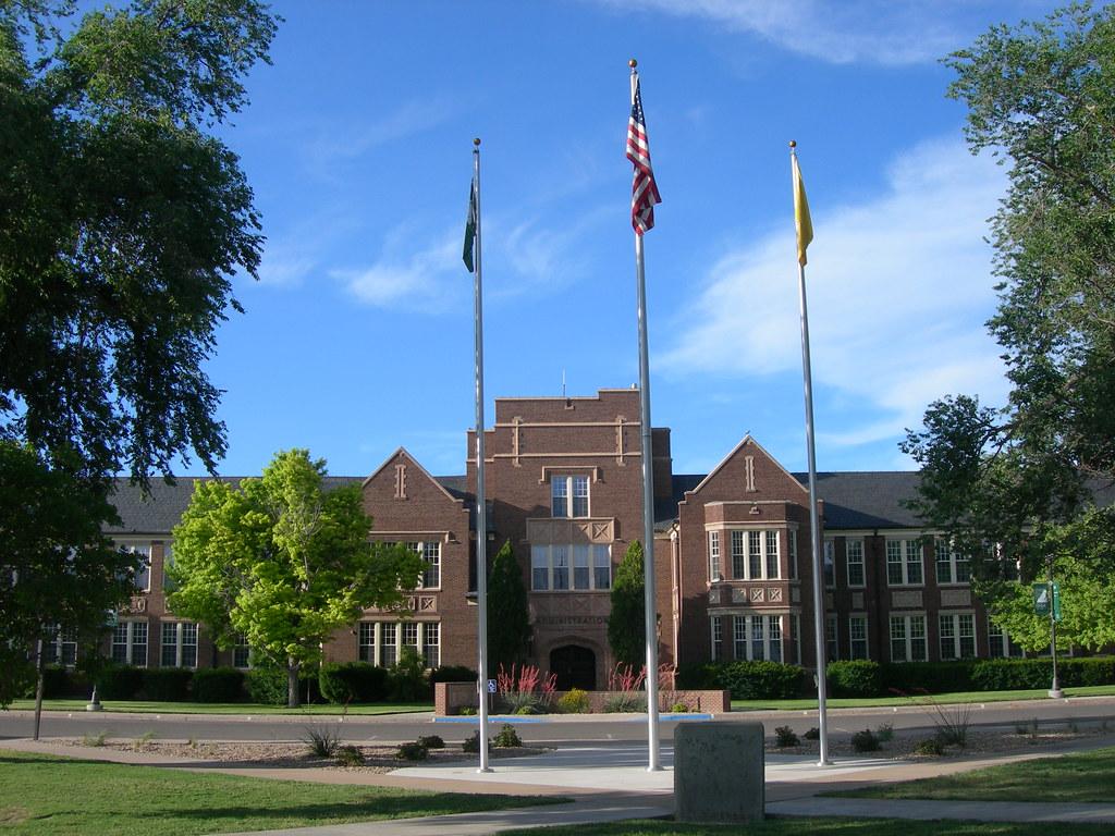 Enmu Administration Building Portales New Mexico