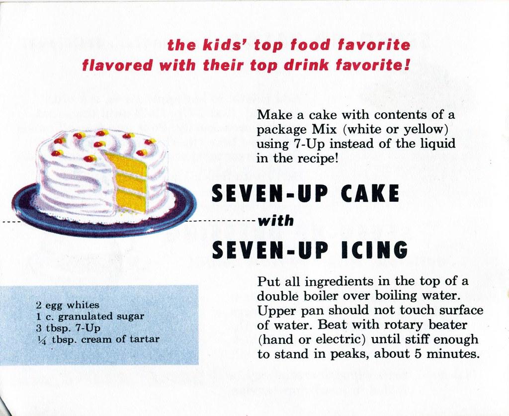 7-Up Cake & icing Shelf Life Taste Test Flickr