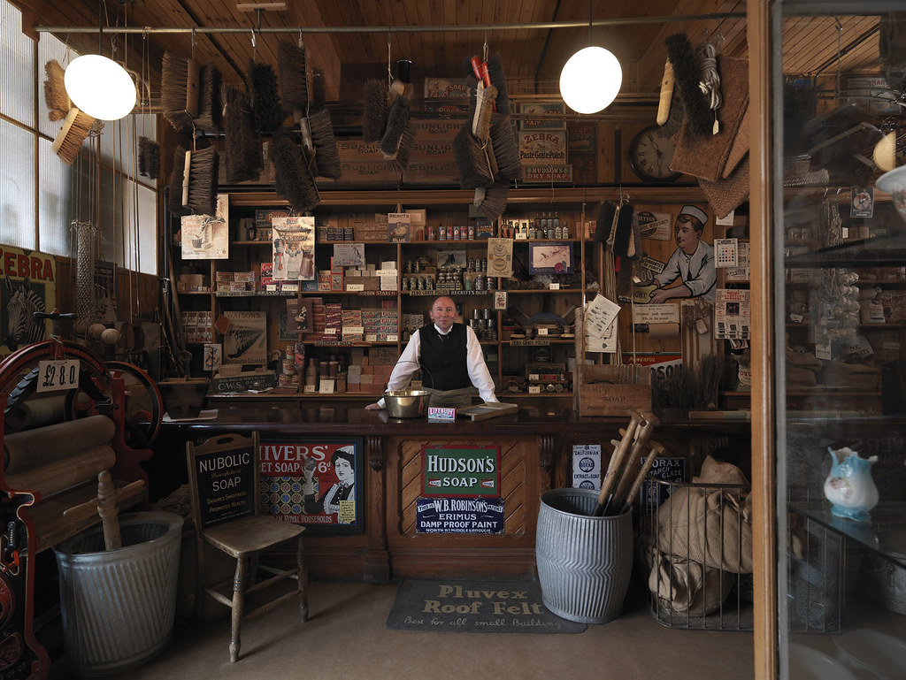 The Co Op Hardware Shop At Beamish The Assistant Of The