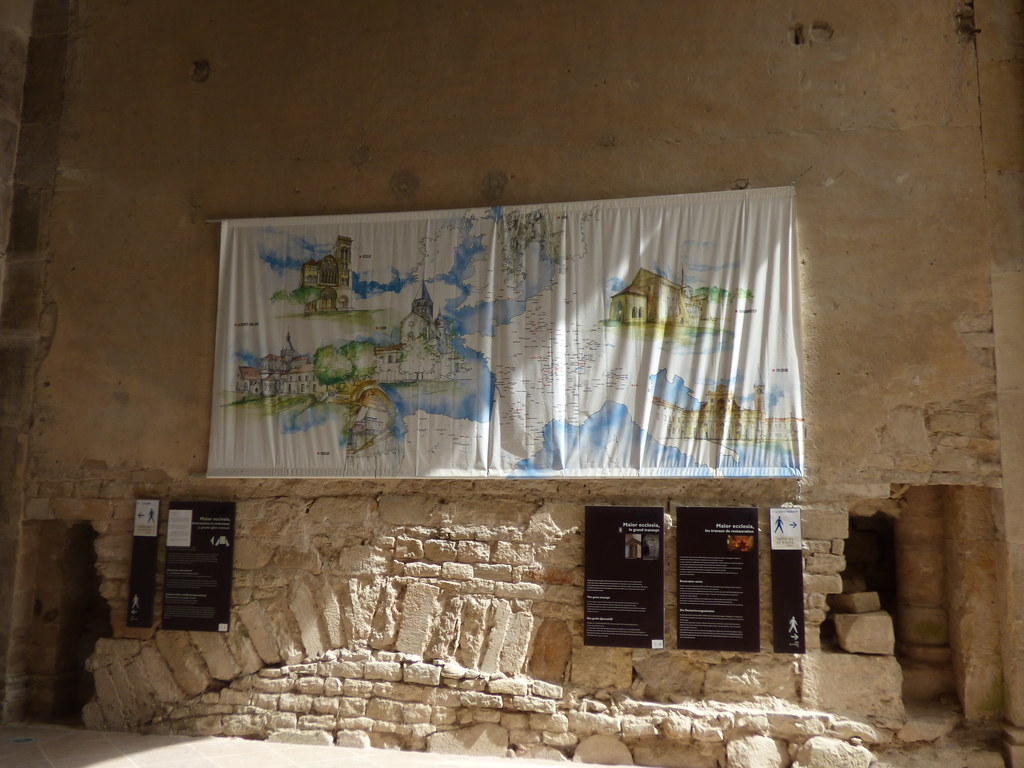 Cluny France Map.The Grand Transept Of Cluny Iii Cluny Abbey The Chapel Flickr