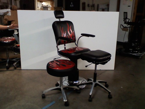 the tattoo chair