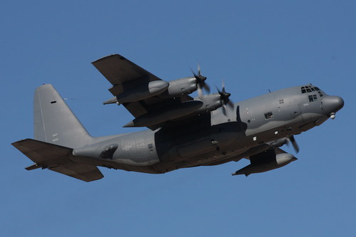 Lockheed Mc 130 Hercules No Base Code On The Tail And