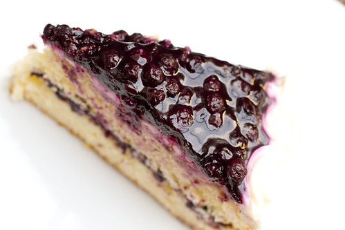 Blueberry Layer Cake Recipe