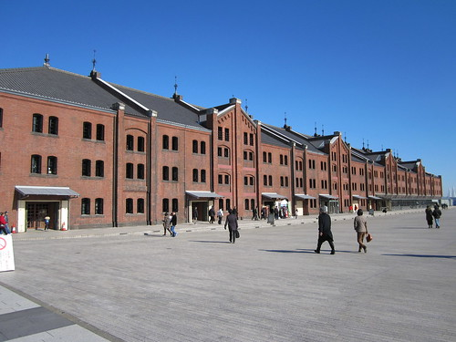 The Yokohama Red Brick Warehouse
