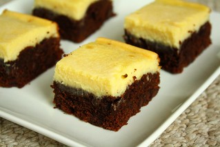 SMS Black Bottom Brownies | by Tracey's Culinary Adventures