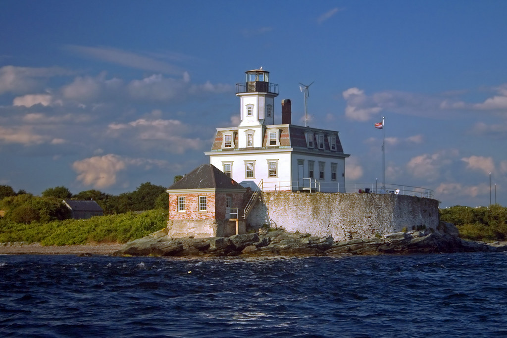 Light House In Rhode Island