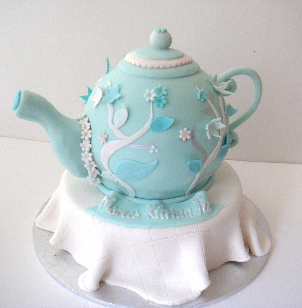 Teapot Cake Designs
