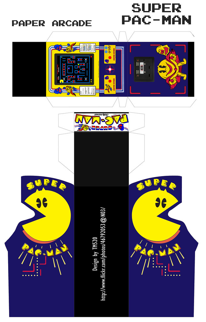 Pac Man Arcade Cabinet