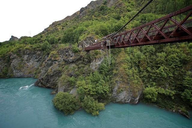Kawarau Bridge - Bungee jumping
