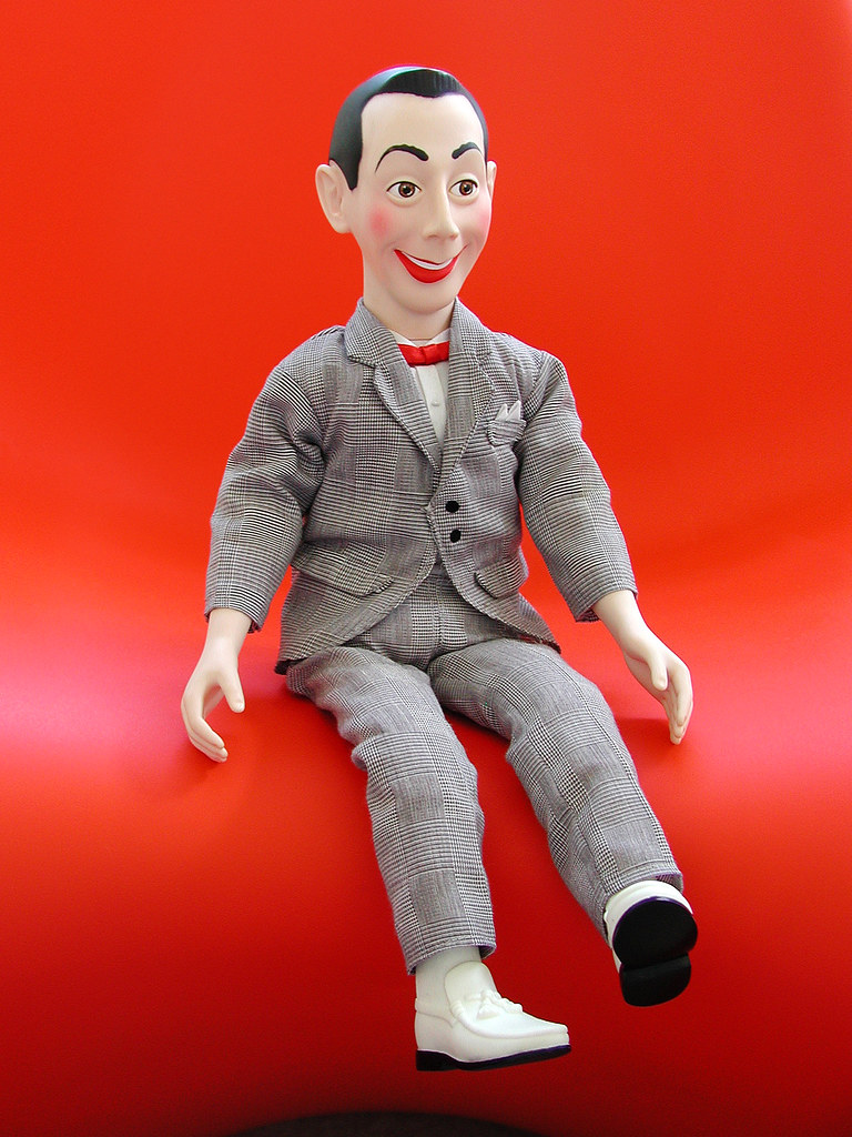 matchbox talking pee wee herman doll 1987 well not anym flickr. Black Bedroom Furniture Sets. Home Design Ideas