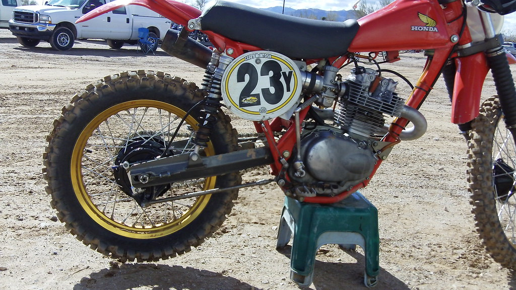 C&J Honda 500   Motor is an XL350 bored and stroked to ...