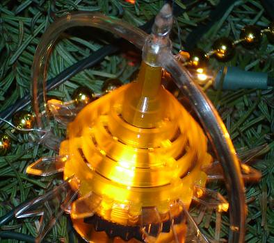 Rotating Christmas Tree Light