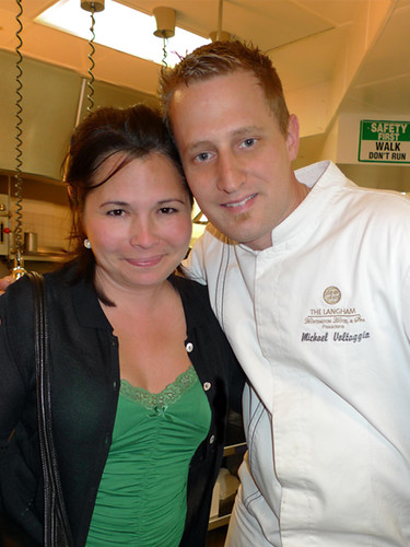 With Chef Michael Voltaggio In The Kitchen With My