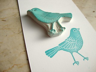my favorite bird stamp (: | by minna_may