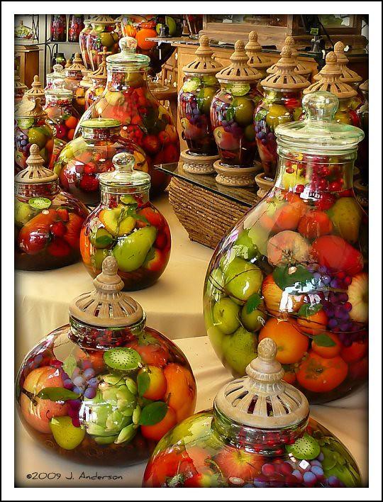 Preserved Fruit Decorative Jar Images