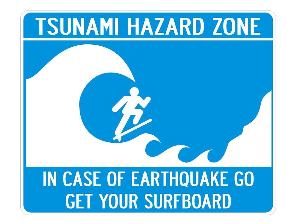 Tsunami Hazard Zone   TSUNAMI HAZARD ZONE IN CASE OF ...