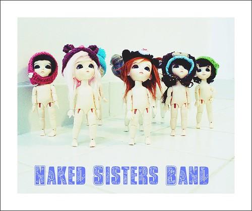 Naked sister band