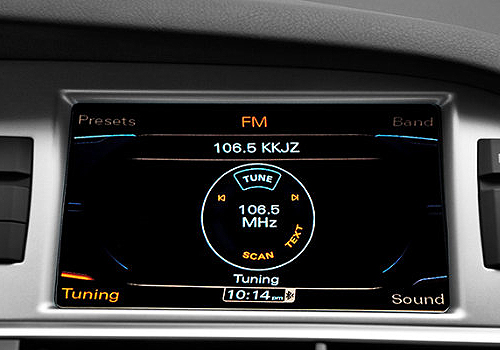 Audi A6 Stereo Interior Photo   Audi A6 is a new in trend wi