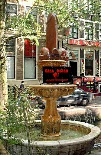 Amsterdam redlight district - 2 4
