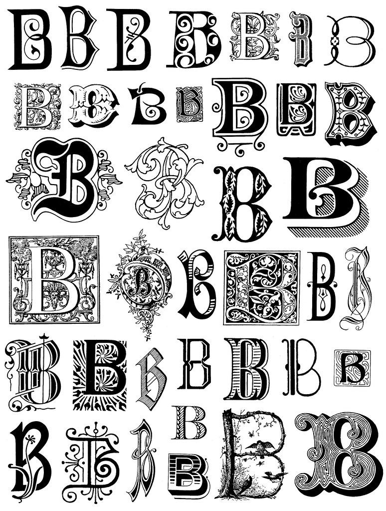 how to draw fancy letters alphabet 3 this image is free to use in your creative 22283