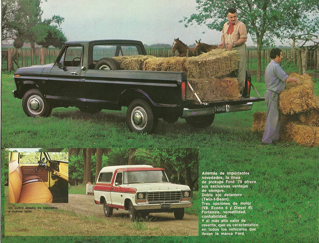 New Ford Trucks >> 1979 Ford built in Argentina | These trucks had three engine… | Flickr