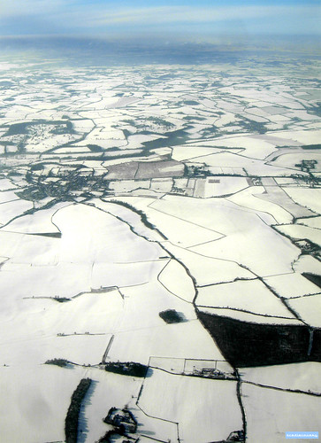 Snowy landscape, aerial photograph | by adrian, acediscovery