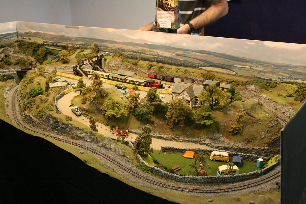 Clydach Valley Railway 009 Layout By Richard Holder
