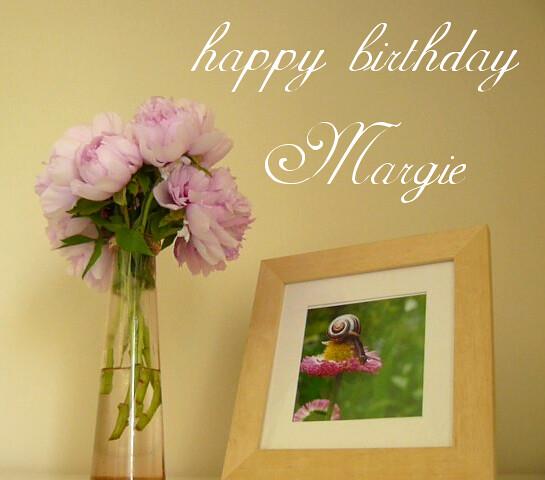 Happy Happy Happy Birthday Margie Dearest Friend My