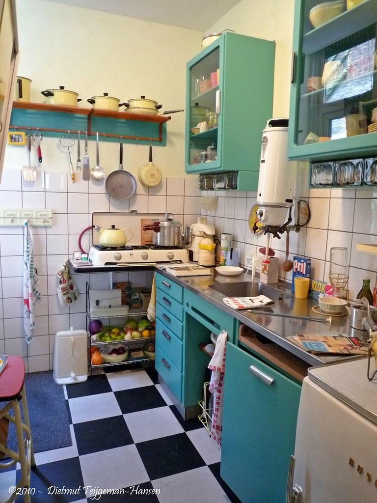Museumwoning jaren 50 60 keuken museumwoning jaren 50 for Interieur 70 jaren