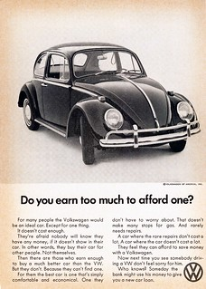 1968 Volkswagen Beetle Ad (Afford One) | by aldenjewell